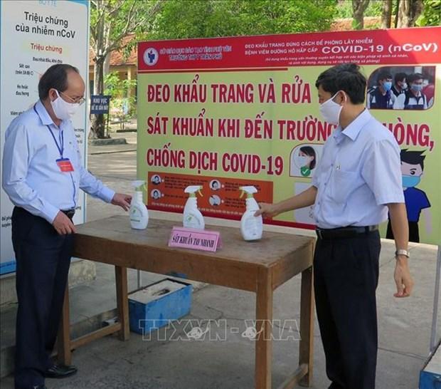 Exigen a provincias vietnamitas garantizar seguridad en Examen de Bachillerato hinh anh 1