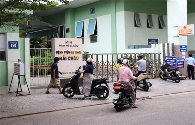 Ciudad de Da Nang somete en cuarentena Centro de Salud del distrito Hai Chau hinh anh 1