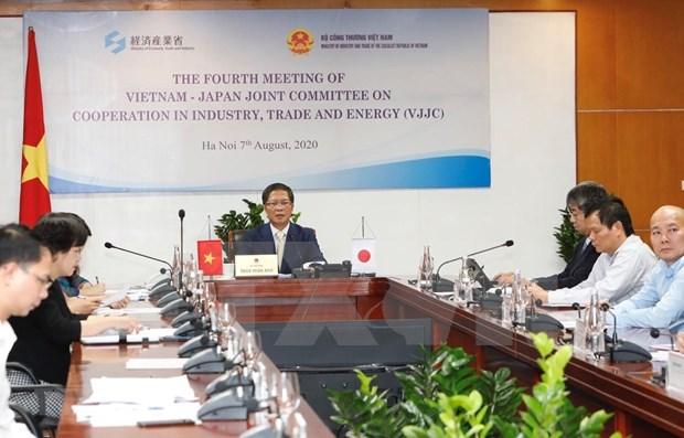 Promueven Vietnam y Japon cooperacion comercial y energetica hinh anh 1