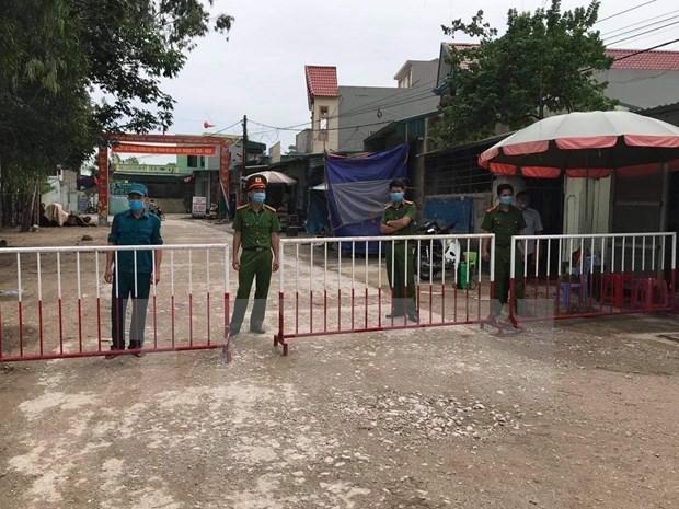 Reportan en Vietnam tres casos nuevos del COVID-19 hinh anh 1