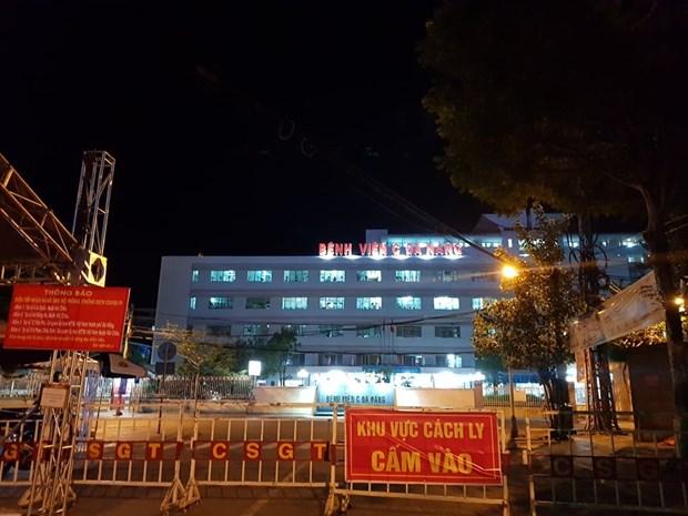 Levantan bloqueo aplicado a hospital C de Da Nang tras cumplimiento de periodo de cuarentena hinh anh 1