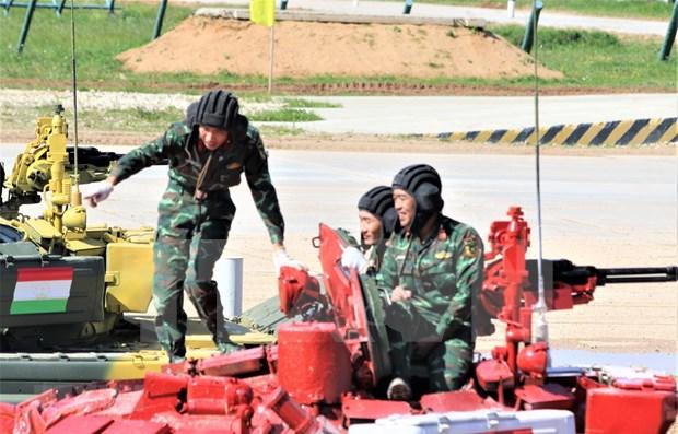 Listos soldados vietnamitas para Juegos Internacionales Militares 2020 hinh anh 1