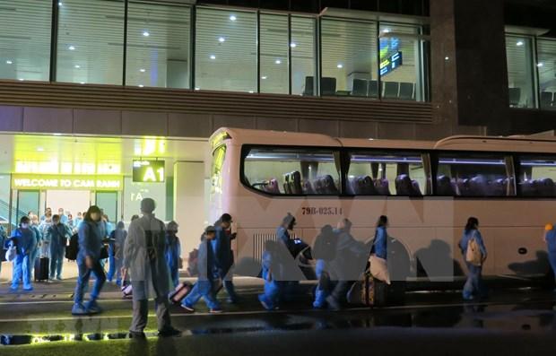 Repatrian a 270 ciudadanos vietnamitas en Republica de Chipre y Arabia Saudita hinh anh 1