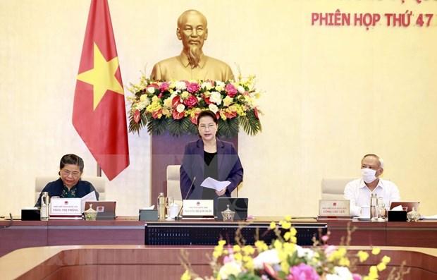 Comienza la cuadragesimo septima reunion del Comite Permanente del Parlamento de Vietnam hinh anh 1