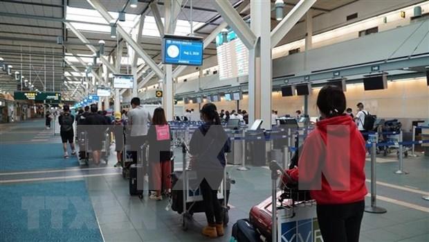 Repatrian a 300 ciudadanos vietnamitas varados en Corea del Sur y Canada hinh anh 1