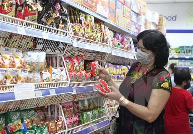 Provincia vietnamita de Long An garantiza suministro de bienes esenciales ante el COVID-19 hinh anh 1