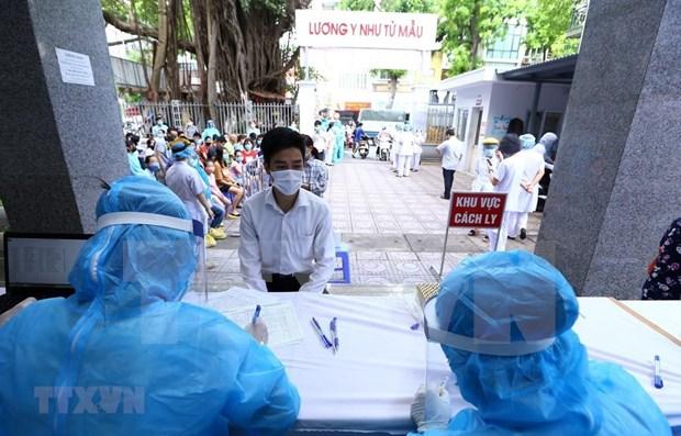 Hanoi insta a realizar rapido pruebas de PCR a ciudadanos con regreso de Da Nang hinh anh 1
