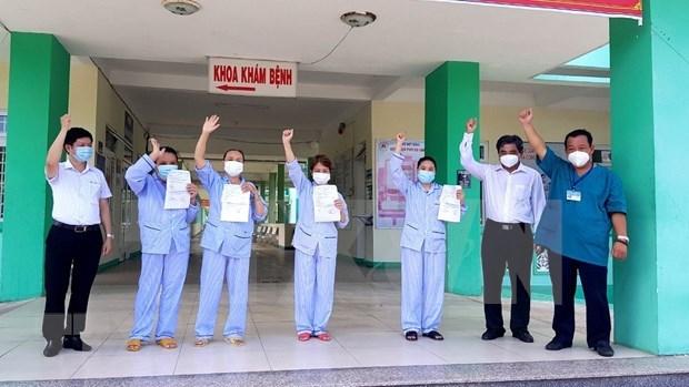 Recuperada paciente de COVID-19 en distrito vietnamita de Phu Quoc hinh anh 1