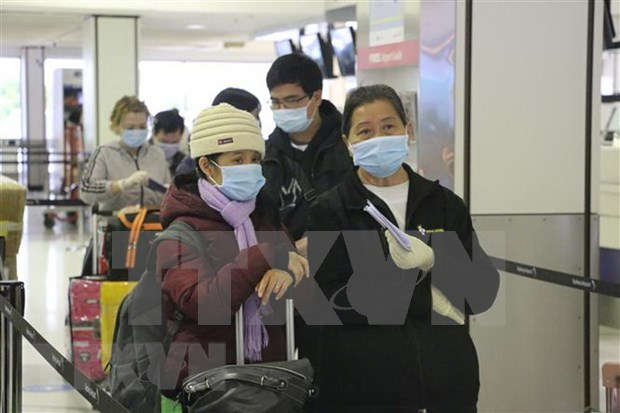 Vietnam recibe a otros 340 compatriotas varados en Rusia debido al COVID-19 hinh anh 1