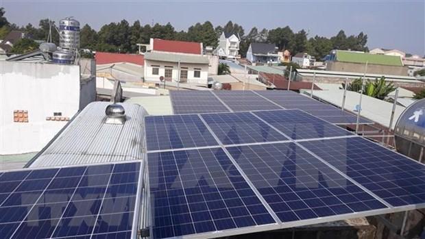 Aumenta en Vietnam consumo familiar de energia solar hinh anh 1