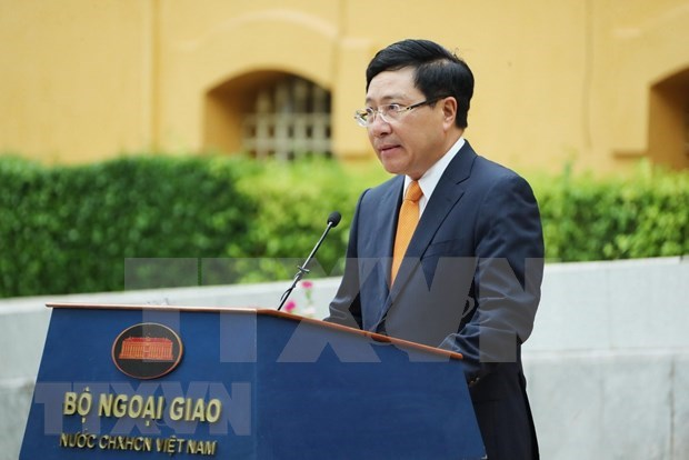 Resaltan liderazgo del Partido Comunista de Vietnam en las labores diplomaticas hinh anh 1