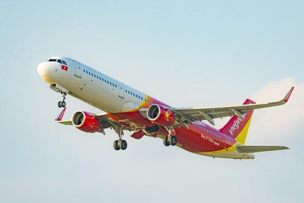 Aerolinea Vietjet realizara vuelos para ayudar a pasajeros varados en Da Nang hinh anh 1