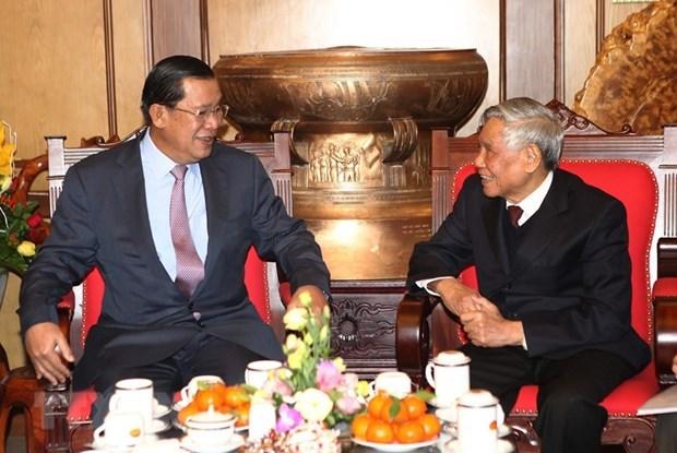 Enaltecen aportes del exmaximo dirigente partidista de Vietnam Le Kha Phieu a revolucion camboyana hinh anh 1