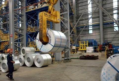 Aumenta exportacion de acero de grupo vietnamita a pesar de COVID-19 hinh anh 1