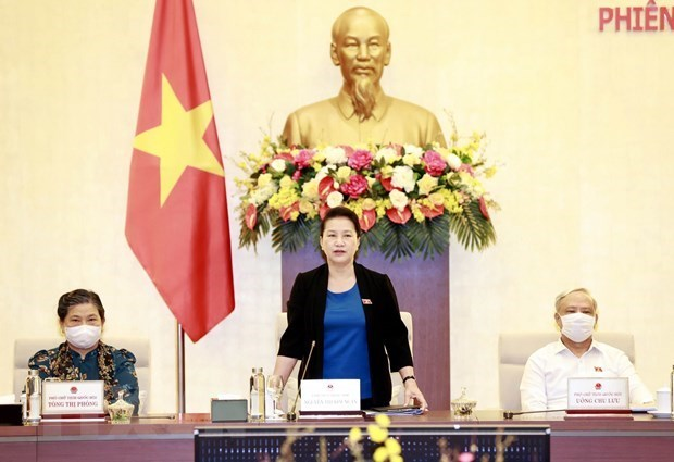 Clausuran 47 reunion del Comite Permanente de Asamblea Nacional de Vietnam hinh anh 1