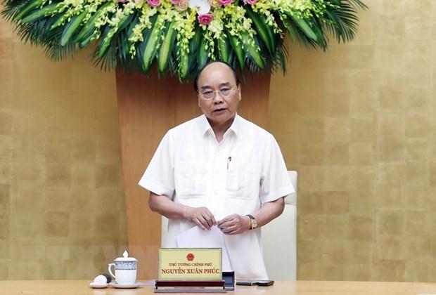 Premier vietnamita pide elaborar estrategias antiepidemicas eficientes hinh anh 1