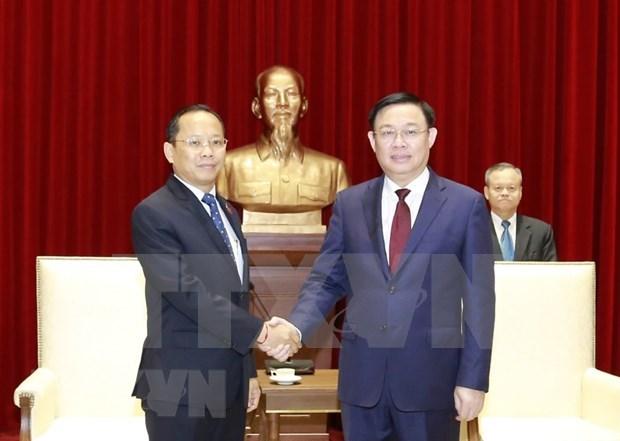 Hanoi impulsa cooperacion con localidades camboyanas hinh anh 1