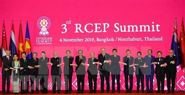 Proceso de negociacion de RCEP entra en etapa final hinh anh 1