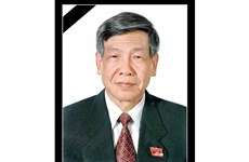 Continuan las muestras de condolencia por fallecimiento del exsecretario general Le Kha Phieu hinh anh 1
