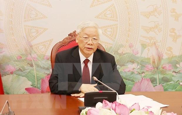 Vietnam y Laos reiteran voluntad de fortalecer sus nexos especiales hinh anh 1