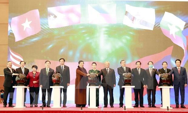 Lanza Vietnam sitio web y aplicacion movil del Ano de Presidencia de AIPA 2020 hinh anh 1