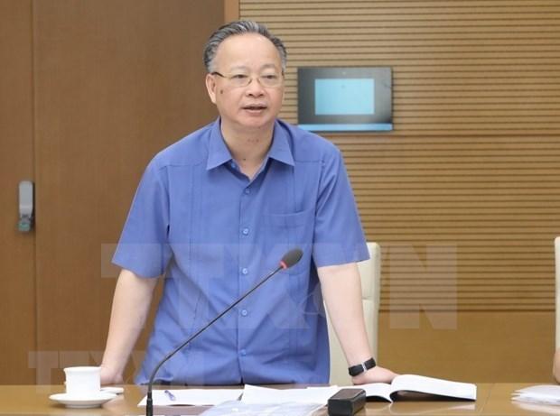 Nguyen Van Suu designado para dirigir actividades del Comite Popular de Hanoi hinh anh 1