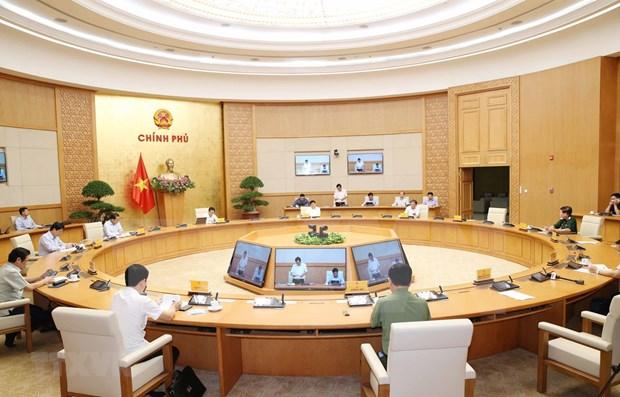 Vietnam eleva nivel de alerta comunitaria sobre la epidemia de COVID-19 hinh anh 1