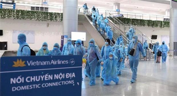 Vietnam Airlines traslada a turistas atrapados en Da Nang a Ciudad Ho Chi Minh hinh anh 1