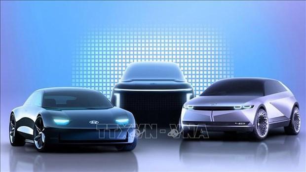Hyundai proyecta establecer fabrica de automoviles electricos en Singapur hinh anh 1
