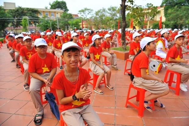 Vietnam organizara apertura del nuevo curso escolar en linea hinh anh 1