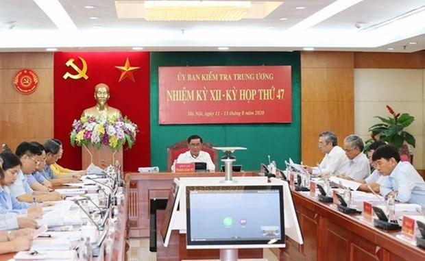 Comision del PCV impone medidas disciplinarias contra funcionarios militares hinh anh 1