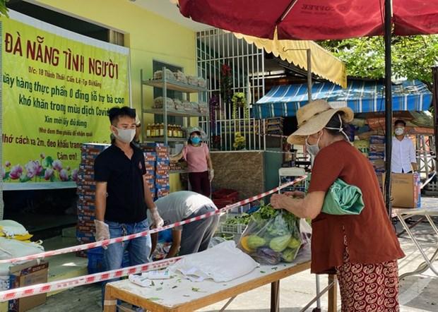 Inauguraran en la ciudad vietnamita de Da Nang mercado de 'cero dong' hinh anh 1