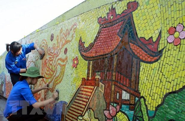 Hanoi presta atencion a crear espacio de arte publico hinh anh 1