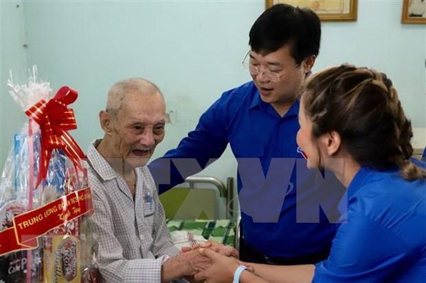 Jovenes en Ciudad Ho Chi Minh recaudan fondos para personas desfavorecidas hinh anh 1