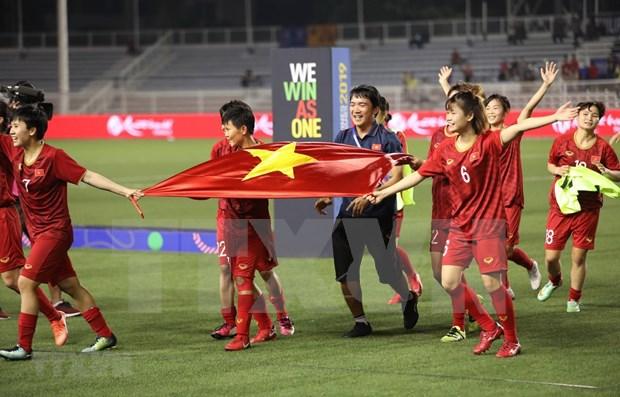 Seleccion femenina de futbol de Vietnam sigue en top de Sudeste Asiatico hinh anh 1