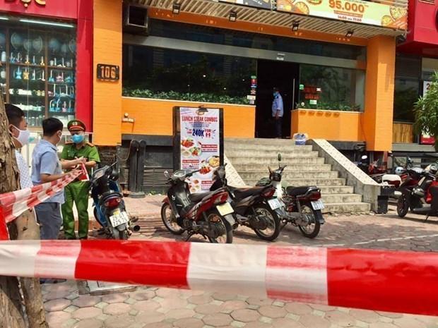 Hanoi insta a cumplir medidas preventivas contra el COVID-19 en restaurantes hinh anh 1