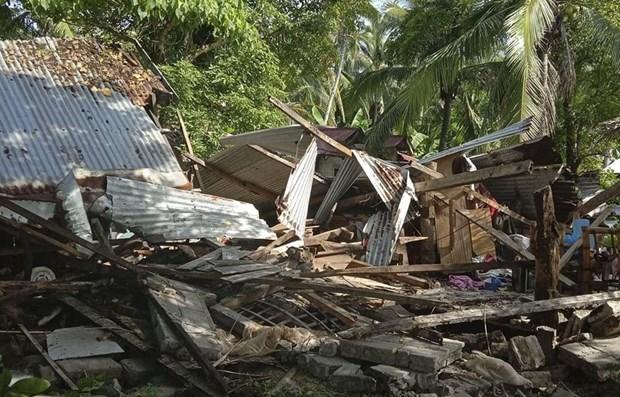 Sacude terremoto de magnitud 6,7 el centro de Filipinas hinh anh 1