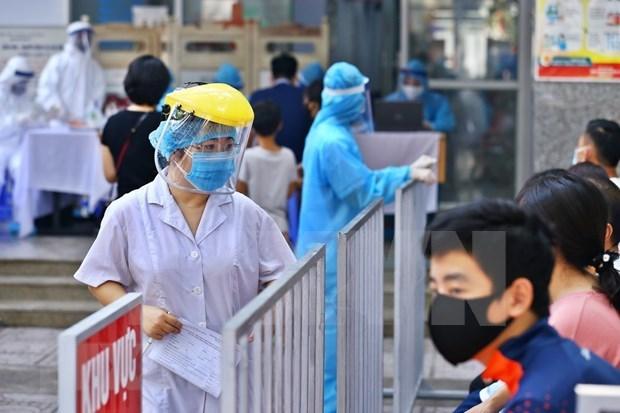 Alertan sobre alto riesgo de contagio del COVID- 19 en hospitales y restaurantes de Hanoi hinh anh 1