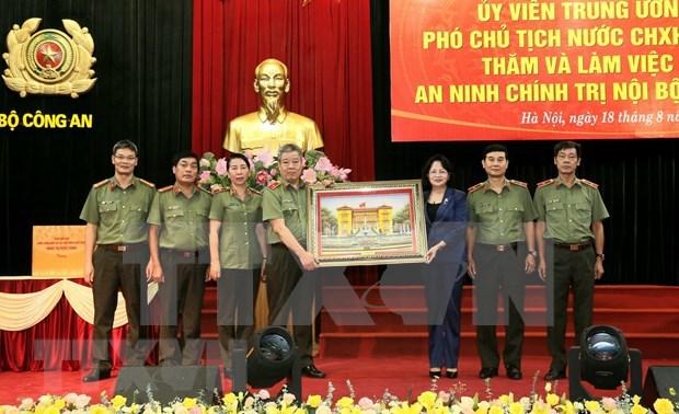 Conmemoran en Vietnam Dia tradicional de la Policia Popular hinh anh 1