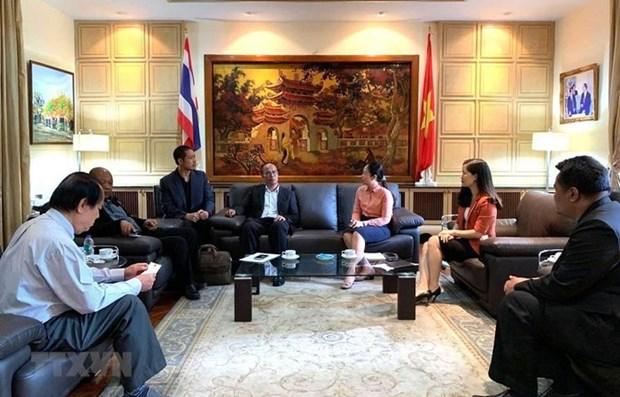 Vietnam y Tailandia fortalecen cooperacion en veterinario y cuarentena animal hinh anh 1