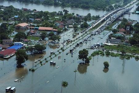Tailandia destinara fondo multimillonario para construir canal de prevencion de inundaciones hinh anh 1