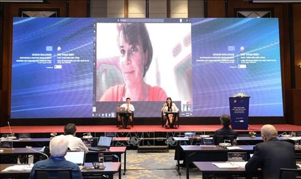Impulsan cooperacion en economia marina entre Vietnam y Union Europea hinh anh 1