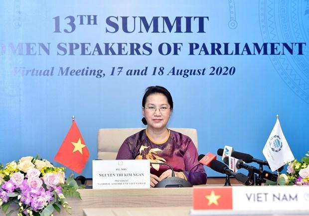 Promueven papel del Parlamento para poner fin a la violencia contra la mujer hinh anh 1