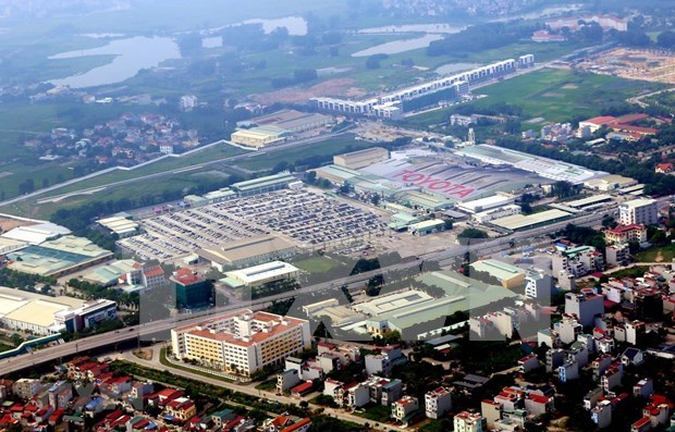 Provincia vietnamita de Vinh Phuc moderniza infraestructura para atraer mas inversiones hinh anh 1