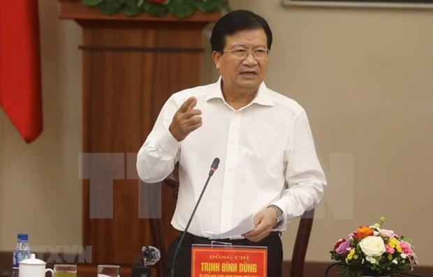 Instan en Vietnam a acelerar desembolso de inversion publica en el sector agricola hinh anh 1