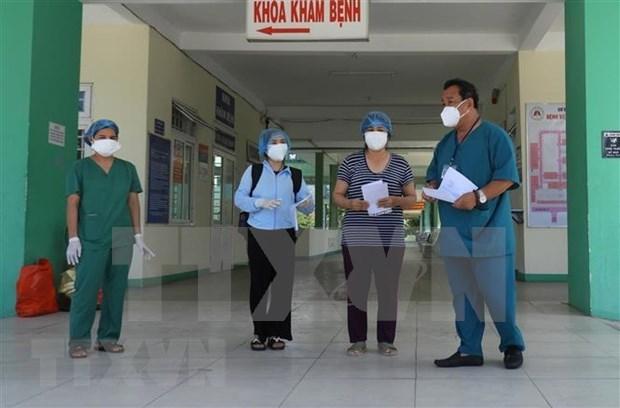 Reportan otros dos recuperados del COVID-19 en Da Nang hinh anh 1