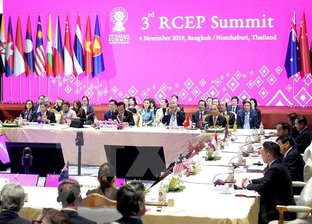 Indonesia: Acuerdo RCEP se firmara en noviembre sin la India hinh anh 1