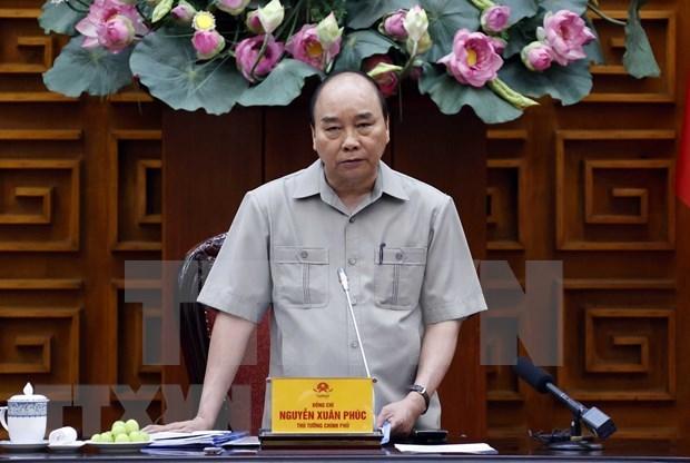 Primer ministro de Vietnam inaugura plataformas de informaciones al servicio del Gobierno electronico hinh anh 1