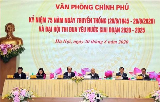 Primer ministro de Vietnam insta a Oficina gubernamental a mejorar su papel de asesoramiento hinh anh 1