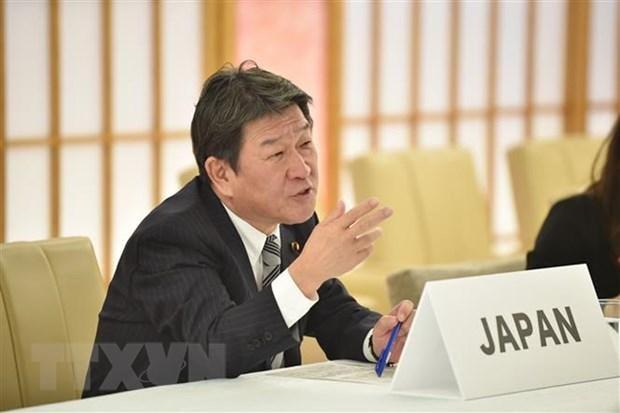 Canciller de Japon realiza gira por Papua Nueva Guinea, Camboya, Laos y Myanmar hinh anh 1